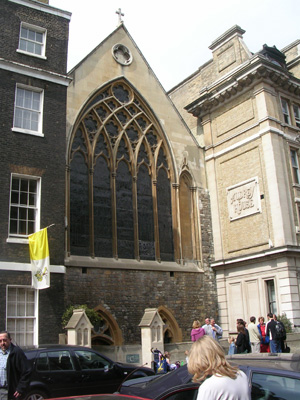 St Etheldreda's, Ely Place, Holborn, London