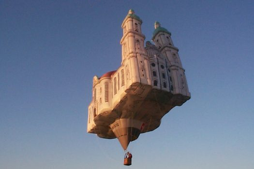 Photo of the hot air cathedral by Kubicek Balloons