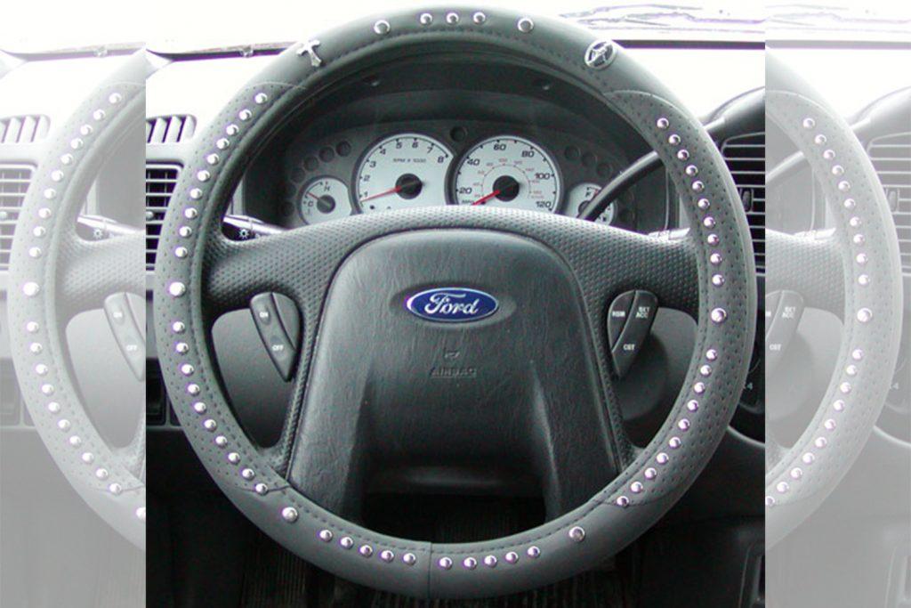 steering wheel rosary