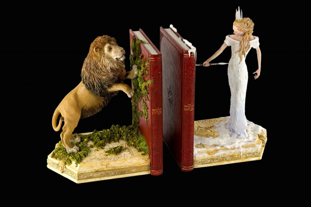 Photo of Narnia bookends