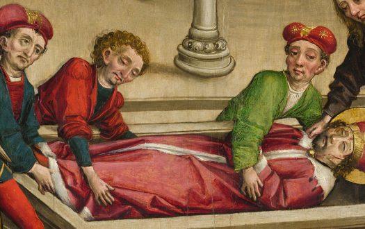 The burial of St Wenceslas
